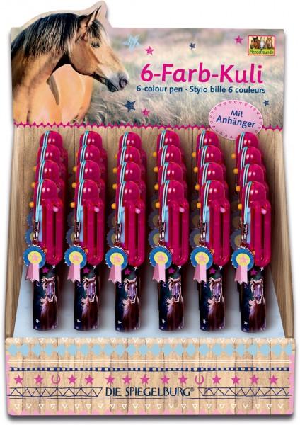 Pferdefreunde 6-Farb-Kuli