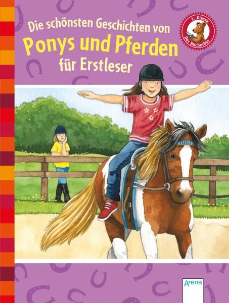Die schönsten Geschichten von Ponys und Pferden für Erstleser