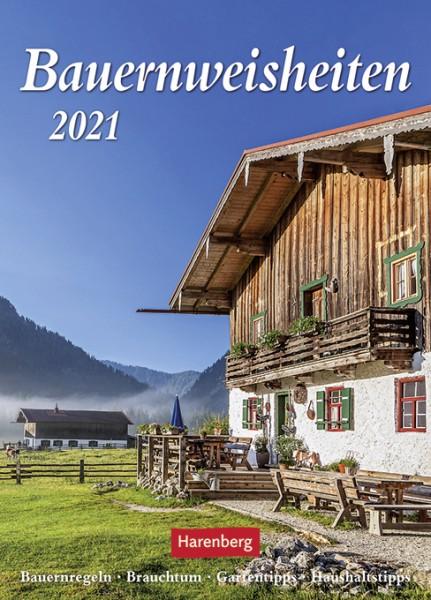 Bauernweisheiten 2021