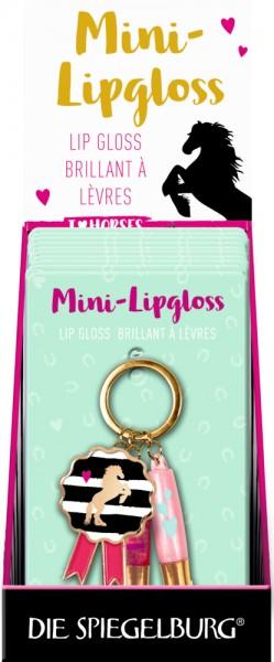 Schlüsselanhänger Mini-Lipgloss I LOVE HORSES