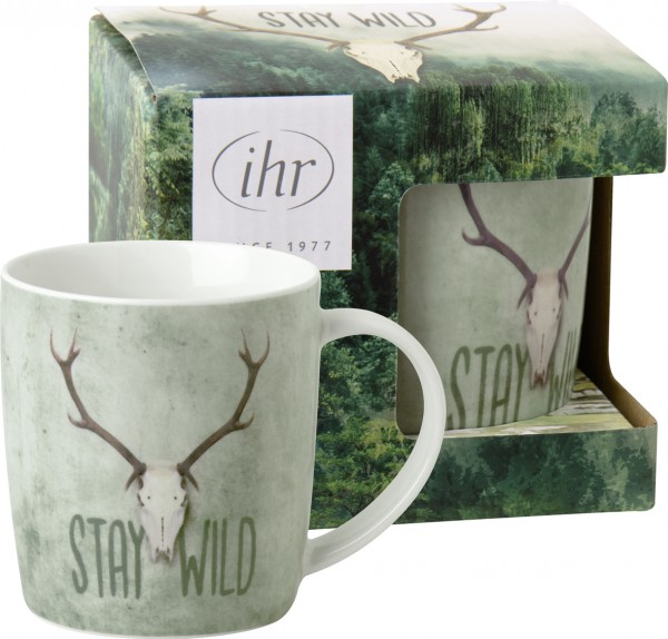 STAY WILD - Porzellanbecher
