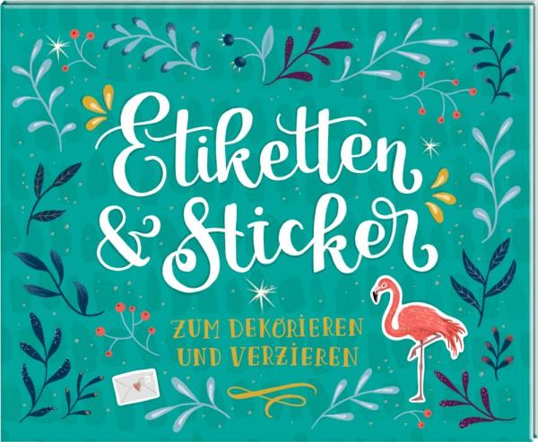Stickerbuch Etiketten & Sticker zum Verzieren