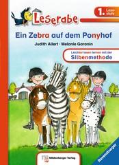 LeseRabe: Ein Zebra auf dem Ponyhof