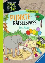 Punkte-Rätselspaß: Im Zoo Lern- und Rätselbücher