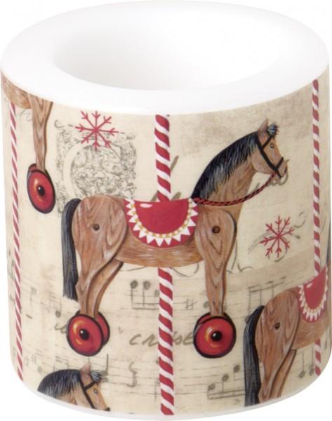 CAROUSEL HORSE - Windlicht