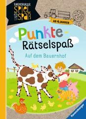 Punkte-Rätselspaß: Auf dem Bauernhof Lern- und Rätselbücher