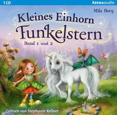 Kleines Einhorn Funkelstern (Band 1 und 2) - Hörspiel CD