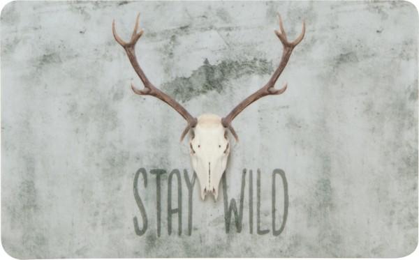 STAY WILD - Melamin Frühstücksbrettchen