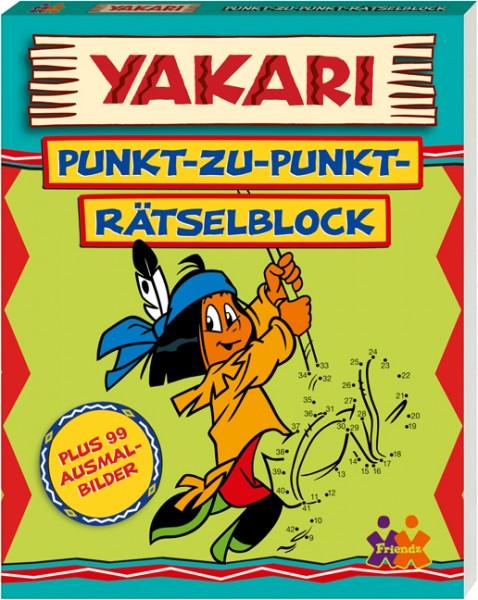 Yakari. Punkt-zu-Punkt Rätselblock (plus 99 Ausmalbilder)