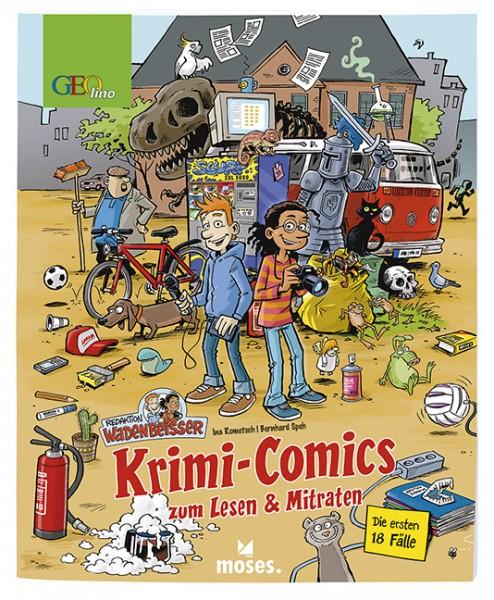 Redaktion Wadenbeißer - Krimi Comics