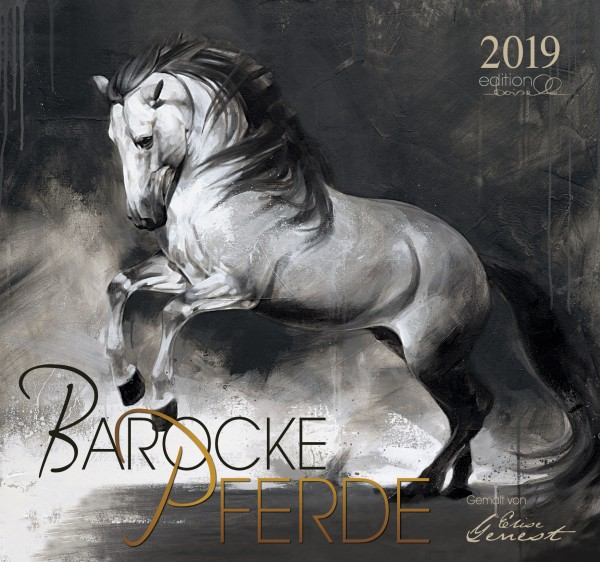 Barocke Pferde Gemalt von Elise Genest 2019 Boiselle