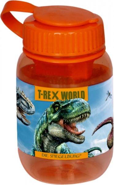 Doppelanspitzer T-Rex World (orange, mit Kappe)