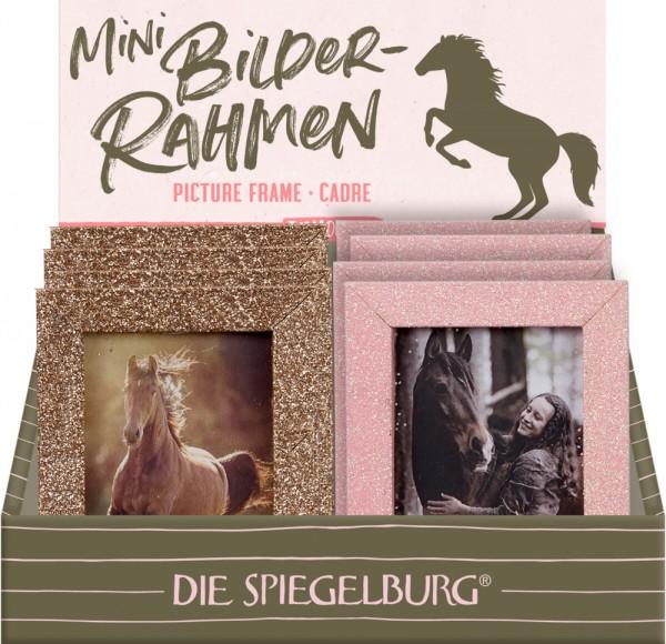 Mini Glitzer-Bilderrahmen