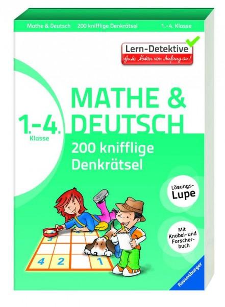 200 knifflige Denkrätsel Mathe und Deutsch