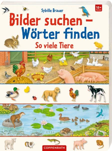 Bilder suchen - Wörter finden: So viele Tiere