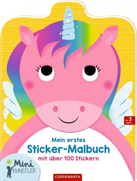 Mein erstes Sticker-Malbuch Einhorn