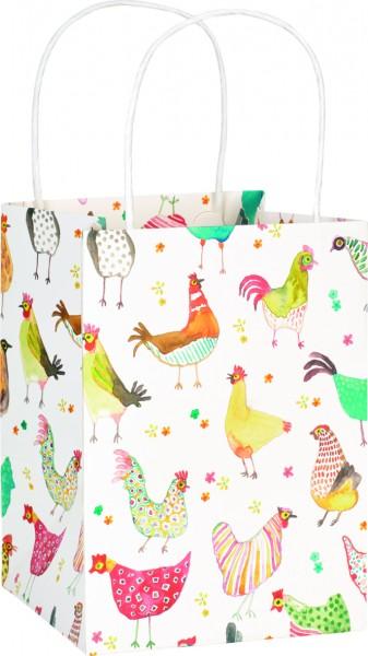 Geschenktasche Jolly Hens