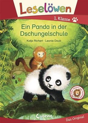 Ein Panda in der Dschungelschule