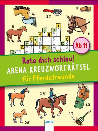 Kreuzworträtsel für Pferdefreunde - Rate dich schlau