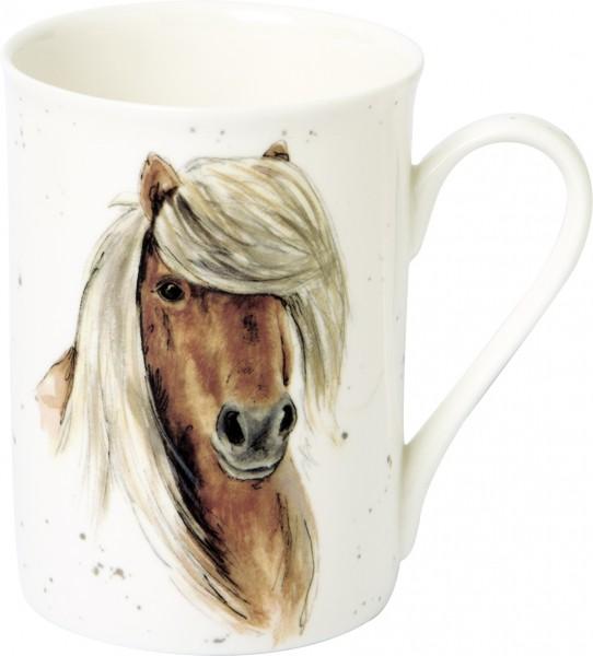 """FARMFRIENDS """"HORSE"""" - Bone China Becher"""