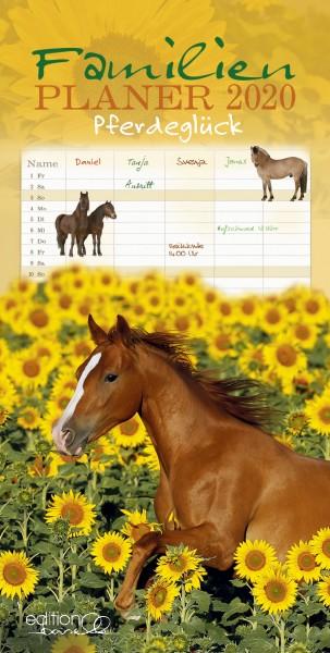 Pferdeglück Familienplaner Boiselle 2020