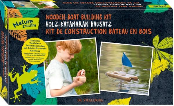 Holz-Katamaran Bausatz