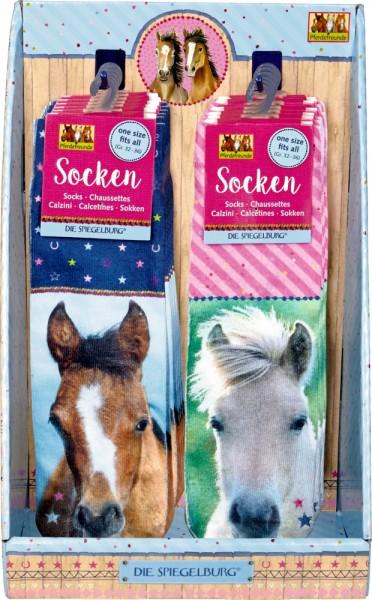 Foto-Socken Pferdefreunde
