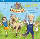 Villa Hufschuh (1 & 2). Ein Pony sorgt für Trubel und Rettung für das Minischwein Hörbuch