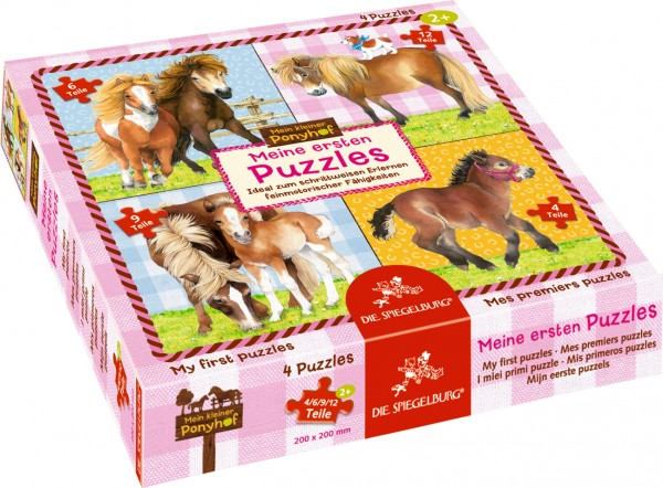 Mein kleiner Ponyhof - Meine ersten Puzzles