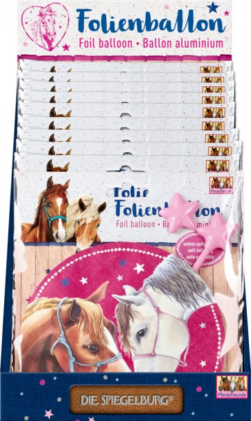 Folienballon Pferdefreunde