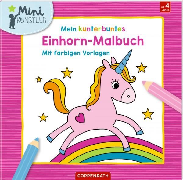 Mein kunterbuntes Einhorn-Malbuch