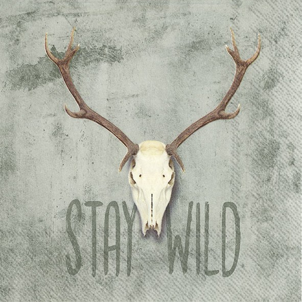STAY WILD - Lunch-Servietten