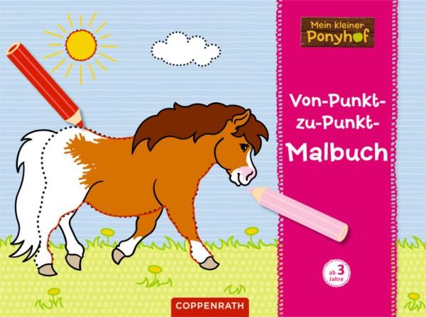 Von-Punkt-zu-Punkt-Malbuch - Mein kleiner Ponyhof
