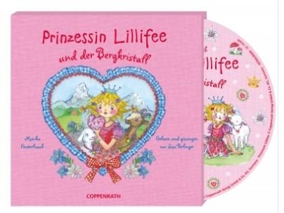 Hörbuch: Prinzessin Lillifee + d. Bergkristall
