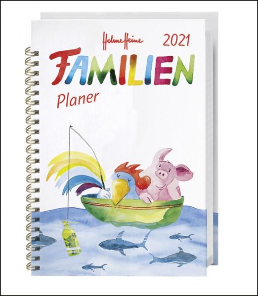 Heine Familienplaner Buch A5 2021