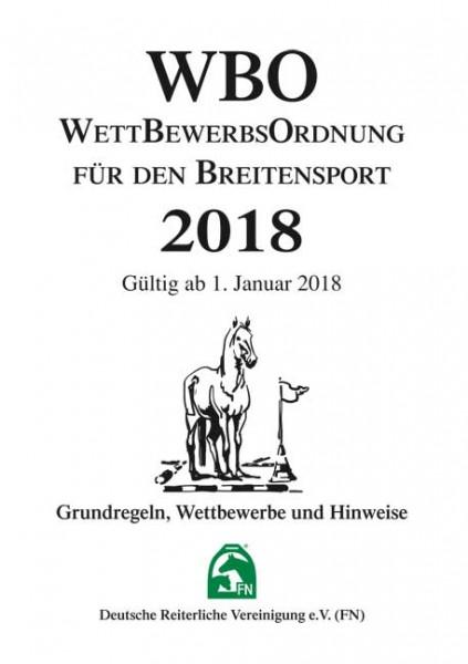 Wettbewerbsordnung für den Breitensport 2018 Inhalt