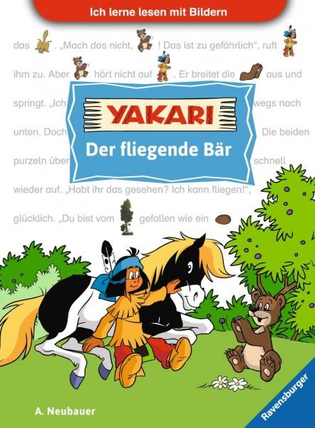 Ich lerne lesen mit Bildern: Yakari - Der fliegende Bär
