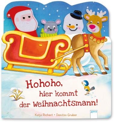 Hohoho, hier kommt der Weihnachtsmann