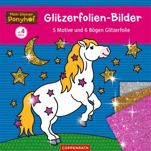 """Glitzerfolien-Bilder """"Mein kleiner Ponyhof"""""""